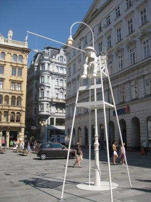 Wien Tagedieb : une étrange colonne de la Peste sur l'avenue Graben 2