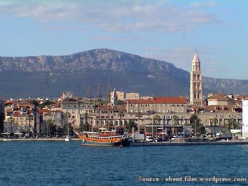 Split Dalmatie Riva