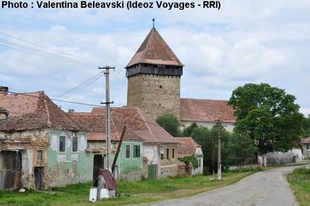 barcut village saxon eglise
