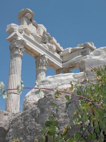 pergame turquie ville antique