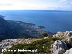 Biokovo Montagne croate