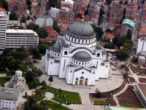 Eglise Sava Belgrade