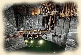 Wieliczka mine sel cracovie
