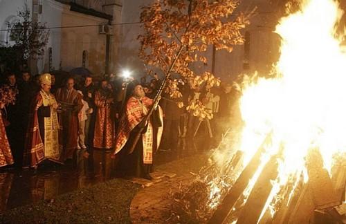 Badnjak badnji dan noel serbe orthodoxe
