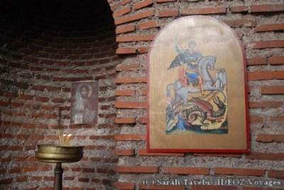 Sofia Bulgarie - église orthodoxe Saint Georges