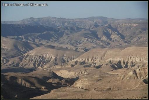 desert jordanie kerak shaumak