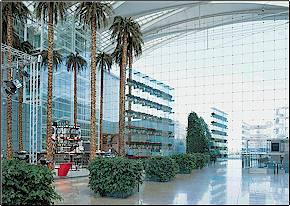 hotel munich kempinski airport - hall
