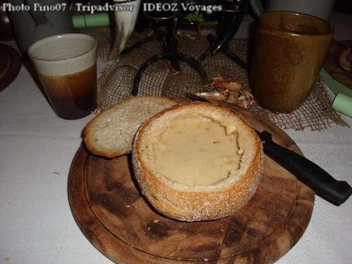 soupe de pomme de terre Restaurant Krone