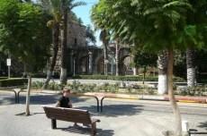 Antalya palmiers et vestiges hellenistiques