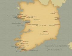 carte irlande ireland Voyage en Irlande