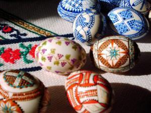 oeufs peints pologne paques