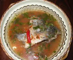La ciorba de peste : soupe de poisson (recette roumaine) 1
