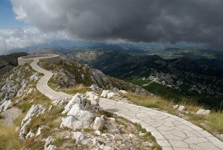 Lovcen sentier montenegro