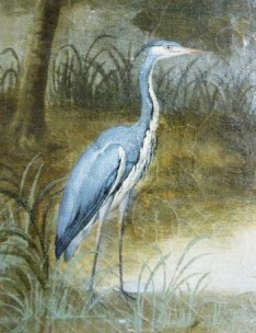Nymphenburg amalienburg tableau heron