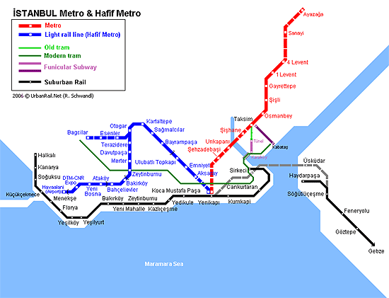 Metro istanbul plan