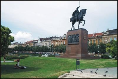 Statue Zagreb