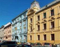Zagreb - Rue Haulikova Art Nouveau