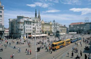 Zagreb place Josip Jelacic