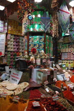 istanbul bazar egyptien epices