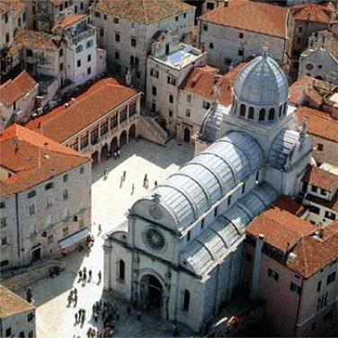 cathédrale sibenik dalmatie