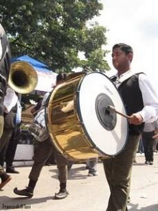 Guca musicien et tambour