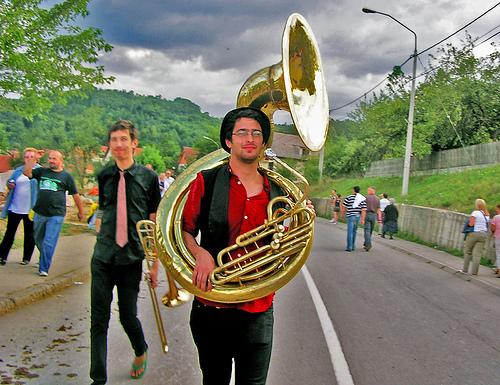 Guca festival Gucha Dragaveco : le festival des fanfares en Serbie 12
