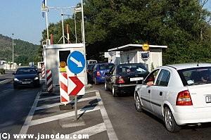 frontiere Croatie Bosnie