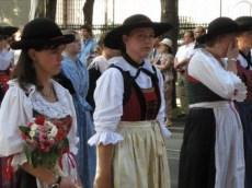 Obseques Otto de Habsbourg autrichiennes en dirdl
