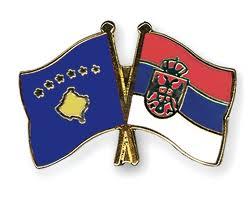 serbie kosovo drapeau