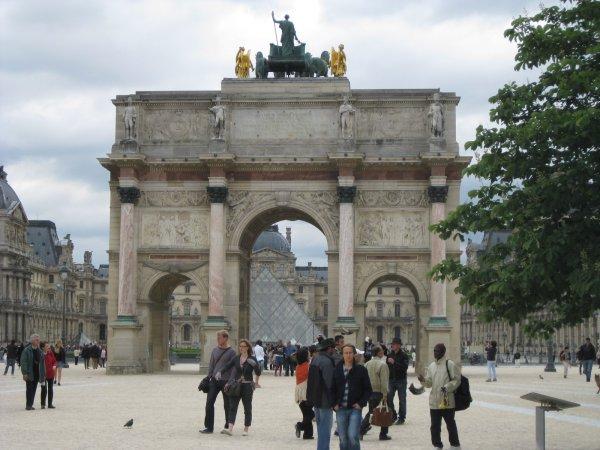 Arc du Carrousel paris