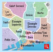 quartiers de Barcelone