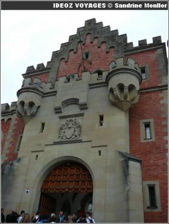 Chateau Neuschwanstein Porte d'Entree