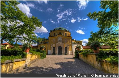 Westfriedhof visiter munich muenchen