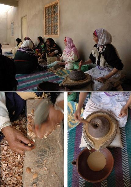 Huile argan Fabrique Essaouira