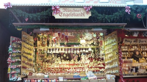 Marche Noel Munich decorations