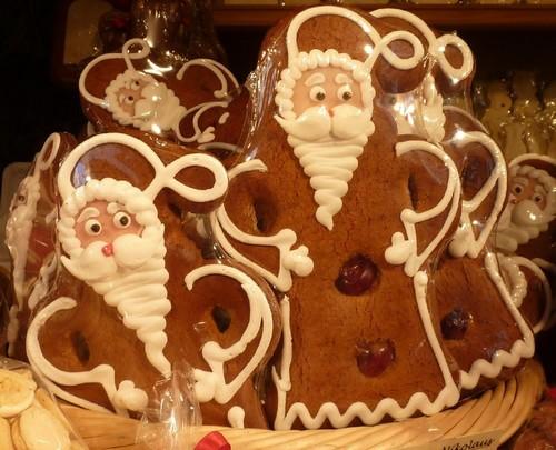 Munich marche de Noel pere noel pain d'epices