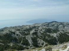 Biokovo Parc naturel croate