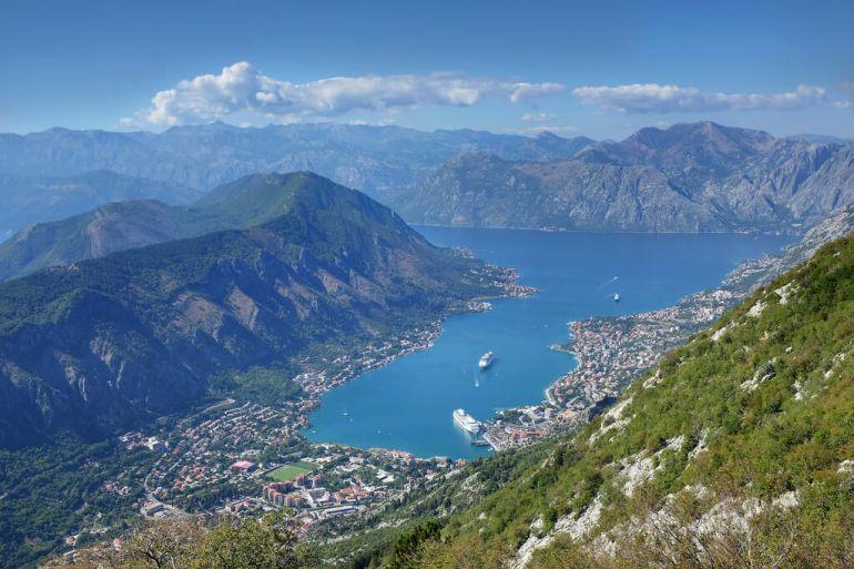 Bouches de Kotor au Montenegro