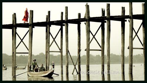 Birmanie barque