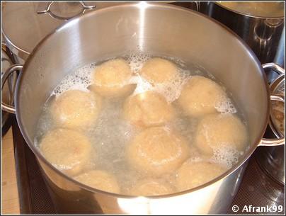 Knodels recette allemande
