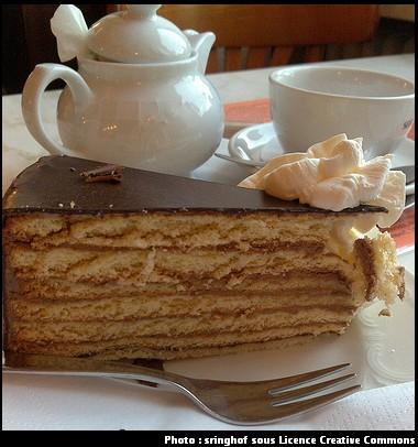 Prinzregententorte tarte du prince regent cuisine bavaroise
