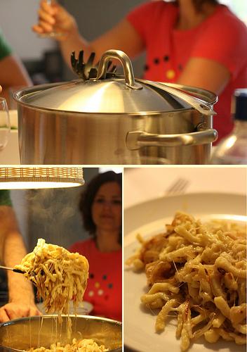 Spatzle cuisine allemande