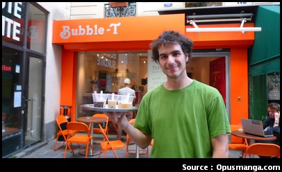 Bubble T Paris bubble tea bar
