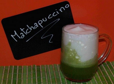 Matcha cappucino Bubble T Paris