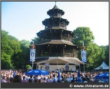Chinaturm Biergarten Munich Muenchen