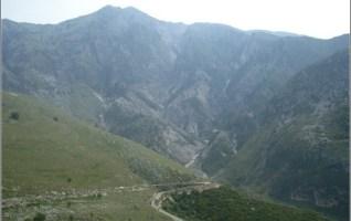 Albanie montagne