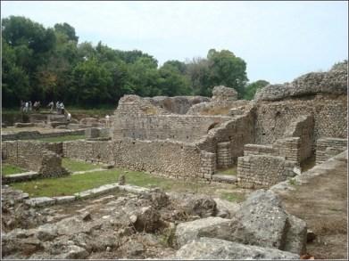 Butrint vestiges Albanie