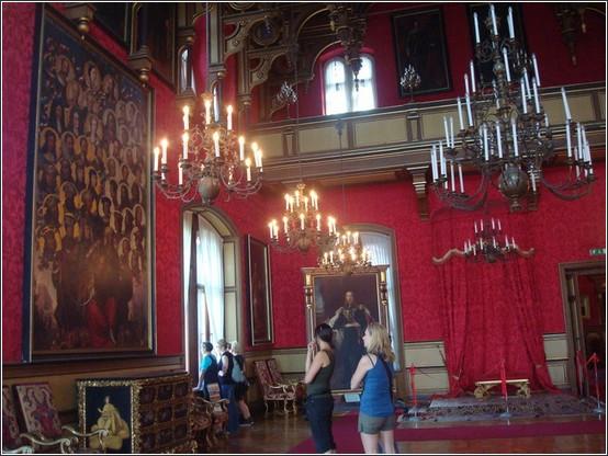 Castello di Miramare salle interieure