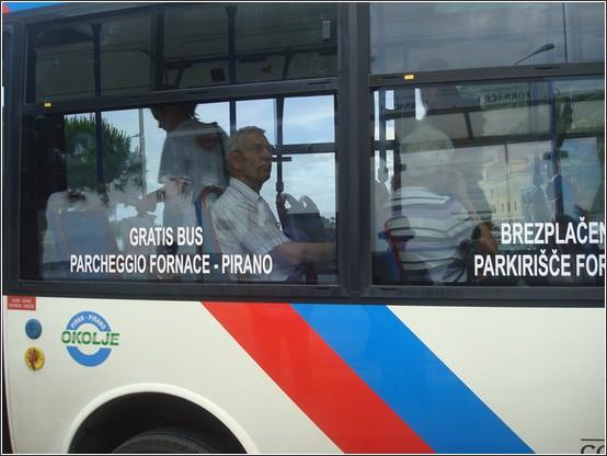 Piran bus Voyage de lItalie aux Balkans (Slovénie, Croatie, Serbie, Macédoine, Albanie)