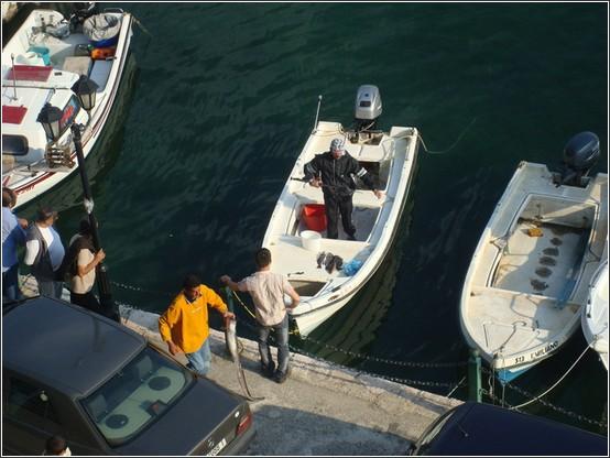 Sarande port bateaux Voyage de lItalie aux Balkans (Slovénie, Croatie, Serbie, Macédoine, Albanie)